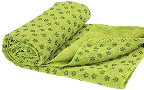 BBZZ Esterillas de yoga para el hogar antideslizante masaje absorción de sudor toalla de yoga manta de yoga plegable suave y cómodo antideslizante Yoga Mat
