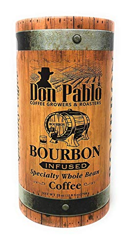 Don Pablo Bourbon Infused Whole Bean Coffee 25 oz