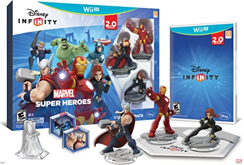 Disney INFINITY: Marvel Super Heroes (2.0 Edition) Video Game Starter Pack - Wii U