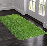 Natural Appearance: It look like Real Grass, Fire- resistance and environment friendly. All season usage without any effect from Rain, Sun and snow. Minimum shedding. Artificial Grass Sizes : We are offering different sizes of Grass Carpet on Amazon....