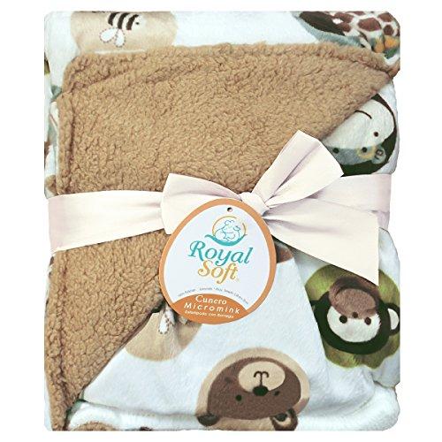 Royal Soft Cobija de bebé (Animalitos)
