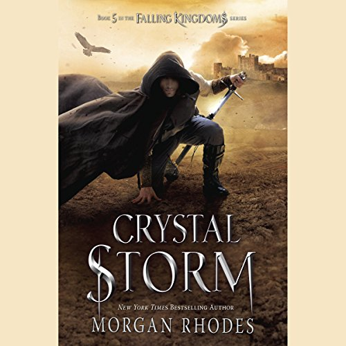 Crystal Storm audiobook cover art