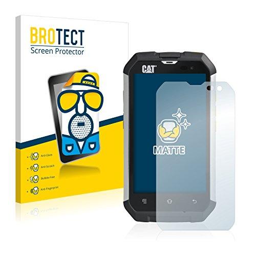 BROTECT 2X Entspiegelungs-Schutzfolie kompatibel mit Caterpillar Cat B15 Bildschirmschutz-Folie Matt, Anti-Reflex, Anti-Fingerprint