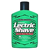 Williams Lectric Shave, Electric Razor Pre-Shave for Men, Green Tea Complex, Reduces Shaving Irritation for a Smoother Shave, 7 Ounce