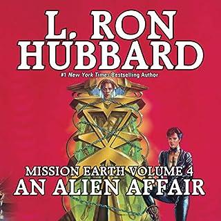 An Alien Affair audiobook cover art