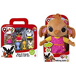 Product 1: Around the corner not far away we're playing with Bing and his friends today Based on the much-loved characters from the hit CBeebies show BING Product 1: OFFICIAL LICENSED PRODUCT Product 1: This adorable figurine set includes Bing, Flop,...