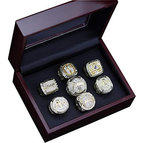 YANGLIXIA Baloncesto Lakers 2020 Spurs Spurs Bowl Replica Creative Tribute a Classics Replica Ring 11#