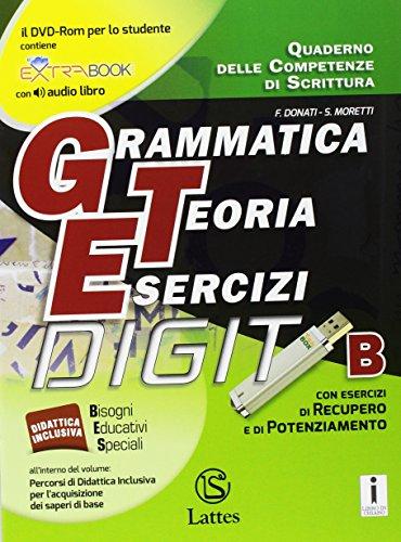 Grammatica teoria esercizi. Per la Scuola media. Con e-book. Con espansione online. Con Libro: Prove ingresso (Vol. A-B-C)