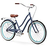 sixthreezero EVRYjourney Women's Single Speed Step-Through Hybrid Cruiser Bicycle, 26' Wheels...