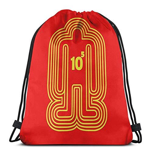 Jard-Baby Doshin The Giant - Yellow Ver. Sport Sackpack Mochila con cordón Saco de Bolsa de Gimnasio