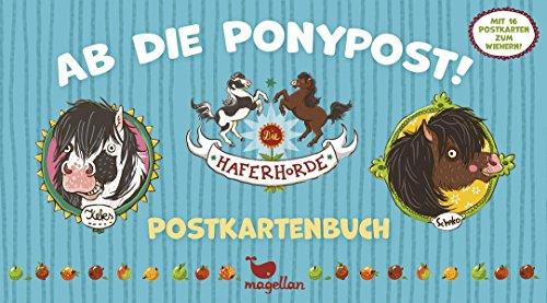 Die Haferhorde – Ab die Ponypost! – Postkartenbuch
