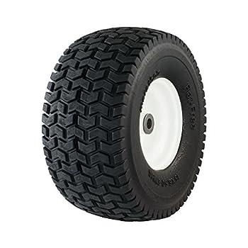 Marathon 30426 15x6.50-6  Flat Free Lawnmower Tire on Wheel 3  Hub 3/4  Bushings