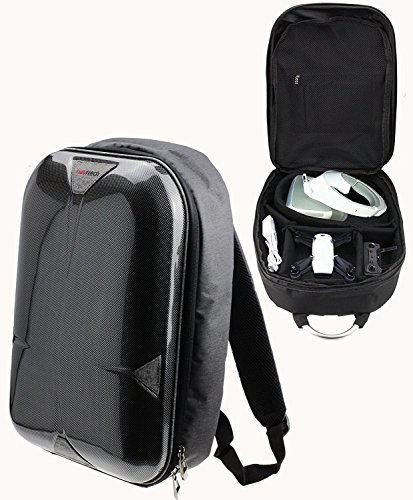 Navitech Rugged Grey Backpack/Rucksack/Case/Travel Case Compatible with The QCopter QC1 Drone Quadcopter