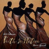 Shades of Color 2019 Faith in Motion African American Calendar Featuring Art by Monica Stewart, 12' x 12' (19MS)