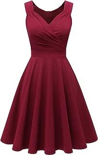 Best high neck sleeveless swing dress Reviews