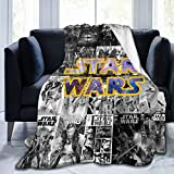 Kaopey Star Wars Blankets Soft Throws Decorative Bedspread Fleece Plush Throw Blanket All Season for Couch Bed Sofa 80'X60'