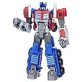 Transformers Generation - Robot Cyber Commander Optimus Prime - 30cm - Jouet Transformable 2 en 1 - Exclusivité Amazon