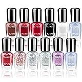 Best new Nail Polish Sets - Abitzon New Nail Polish Set (12 Bottles) Review