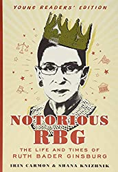 ruth bader ginsburg wearing crown book cover