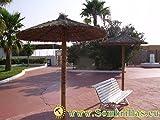 ANTAS JARDIN - Sombrilla Brezo Jardin Para Playa Y Piscina, Diámetro de 2 metros