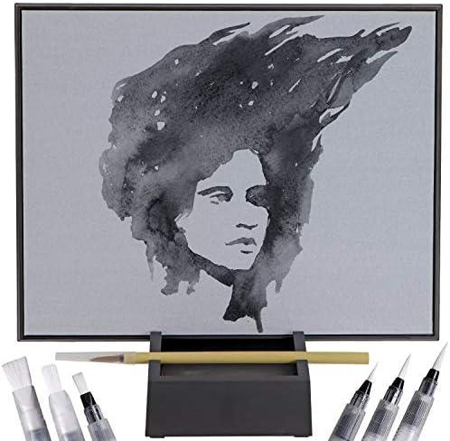Zen Water Painting Board Board Water Drawing Set for Painting Drawing Board with Stand and 6 product image
