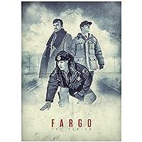 Weuewq ファーゴ映画ポスター絵画背景壁アート写真装飾リビングルームホームギフトキャンバスに印刷-20X28インチフレームなし