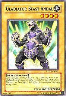 Yu-Gi-Oh! - Gladiator Beast Andal (PTDN-EN001) - Phantom Darkness - 1st Edition - Common