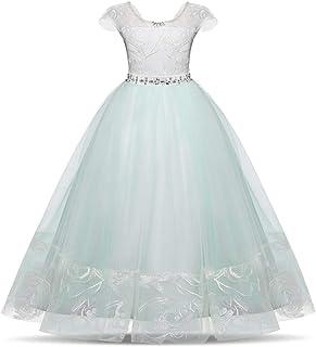 Vestido de princesa de las niñas Vestidos de novia de las niñas vestido de tul vestidos de flores niña de las niñas vestid...