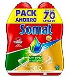 Somat Oro Gel Lavavajillas Antigrasa - 70 Lavados