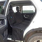 Rom Accessori Cane Auto Amaca Coprisedile Impermeabile Anti Scivolo Protezione Coprisedile per Cani Finestrella per Sedile Posteriore Auto Universale