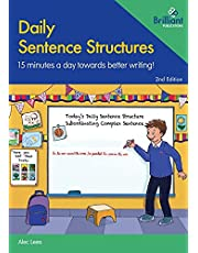 Daily Sentence Structures - 2nd edition: 15 minutes a day towards better writing!