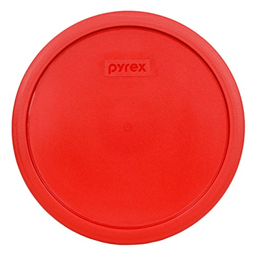 Pyrex 7403-PC Red 10 Cup (2.5qt) Sculptured Mixing Bowl Lid