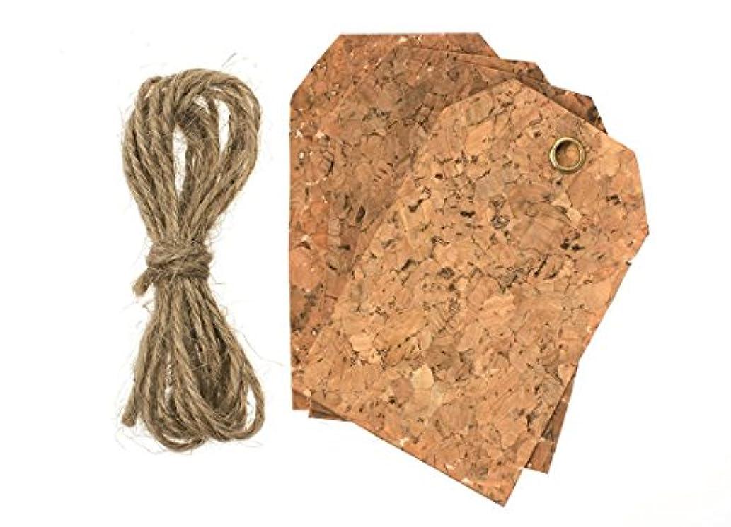 Glorex 6?8619?822?Cork, Cork Decorative Labels Rectangular 14?x 8.6?x 0.5?cm, Natural