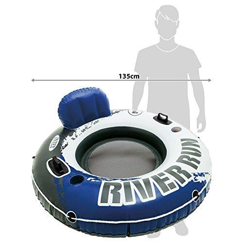 Intex River Run I - Aufblasbarer Schwimmsessel - Ø 135 cm