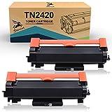 FITU WORK TN2420 TN2410 (con Chip) Cartucho Toner Compatible para Brother HL-L2310D HL-L2350DW...
