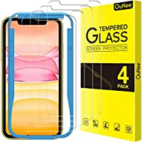 4-Pack OuNee Tempered Glass Screen Protectors