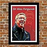Poster Manchester United - Man UTD - SIR Alex Ferguson,