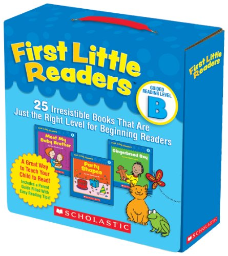 Compare Textbook Prices for First Little Readers Parent Pack: Guided Reading Level B: 25 Irresistible Books That Are Just the Right Level for Beginning Readers Box Edition ISBN 8601300314839 by Charlesworth, Liza
