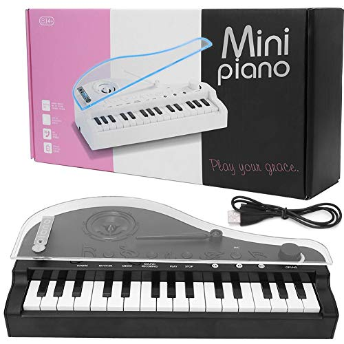 Germerse Juguete de Piano de Cola eléctrico, Carga USB, por