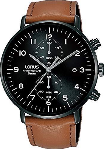 Lorus Reloj Analógico para Hombre de Cuarzo con Correa en Piel RW407AX9