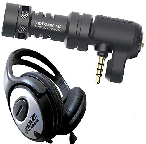 Rode VideoMic Me Micrófono para Smartphone + Auriculares Keepdrum estéreo