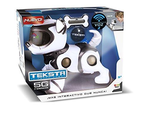 IMC Toys Teksta Perro Robot Interactivo 24cm (Distribución 96240)