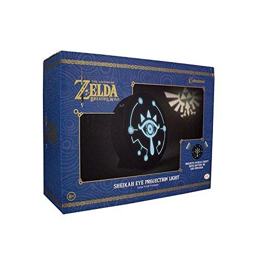 Zelda Sheikah Light Triforce Lampe de table pour Nintendo Merchandise