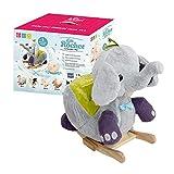 Gerardo`S Elefante a Dondolo in Peluche con Musica. Elefante a Dondolo per Bambini. Animale a...