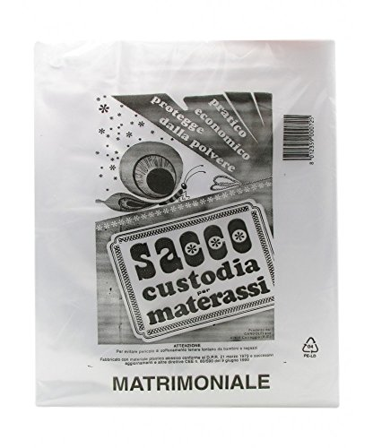 sacco plastica custodia materasso matrimoniale