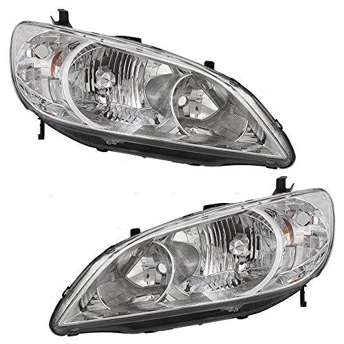04 civic headlights assembly - 6