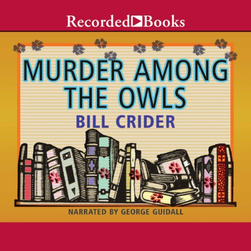 Murder Among Owls audiobook cover art