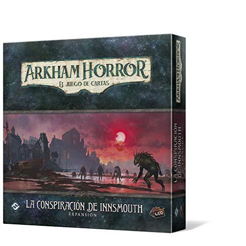 Fantasy Flight Games Arkham Horro LCG - la conspiración de Innsmouthexpansion en Español (AHC52ES)