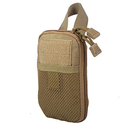 Mini Taktisch EDC Pouch Kompakt Organizer Tasche,Outdoor Jagdtasche Waist Taschen Magazine Pocket