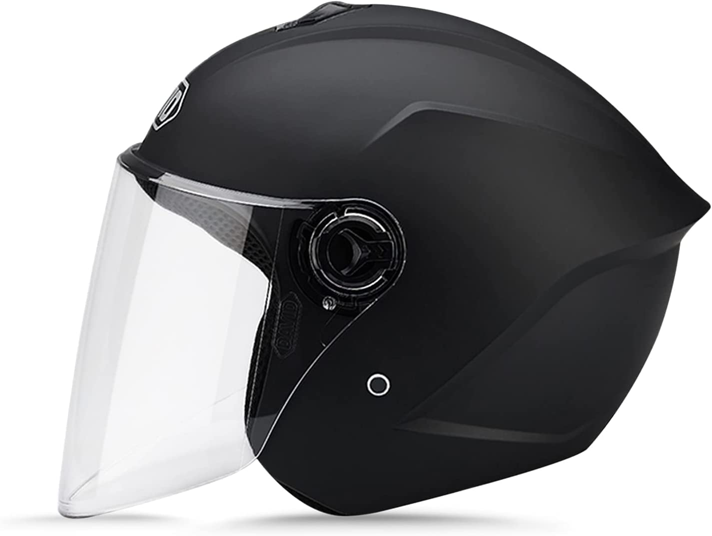 LIONCIANO Cascos De Motocicleta para Hombres y Mujeres, Cascos De Ciclomotor con Viseras.El Cabezal Anticolisión Protege La Seguridad Vial De Los Usuarios
